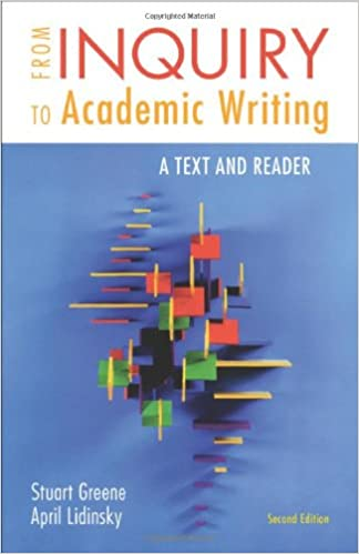 Amazon from inquiry to academic writing a text and reader from inquiry to academic writing a text and reader second edition fandeluxe Images