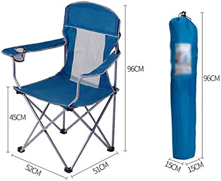LDM Folding chair Outdoor leisure chair Breathable mesh chair Chair Beach chair Folding chair Portable fishing stool Sketch chair
