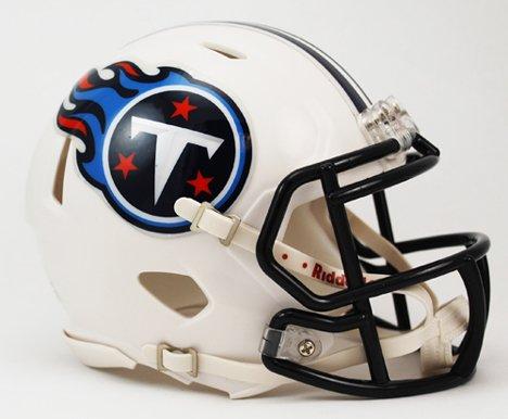 Riddell Tennessee Titans NFL Replica Speed Mini Football Helmet (Titans Tennessee Revolution)