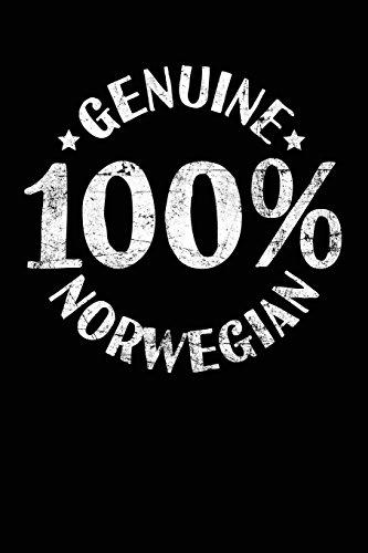 Genuine 100% Norwegian: Novelty Gifts For Men - 6x9