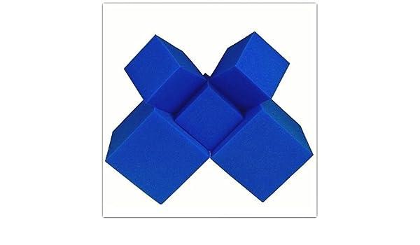 Espuma de trincheras de bloques/cubos 20 pcs. (azul) 5