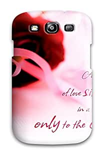 Premium Galaxy S3 Case - Protective Skin - High Quality For Love (33403946)