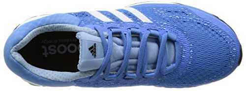 adidas Performance Response Boost - zapatillas de running de material sintético mujer azul - Blau (Lucky Blue S15/Ftwr White/Core Black)