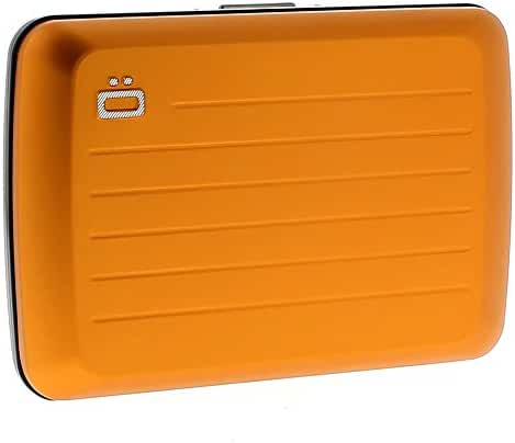 ogon - stockholm v2 orange card case - Ogon
