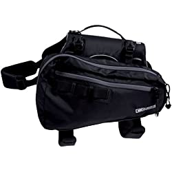 RC Pet Products Ultimate Trail Dog Pack, Small, Black