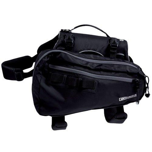 Canine Equipment Ultimate Trail Dog Pack, Medium, Black