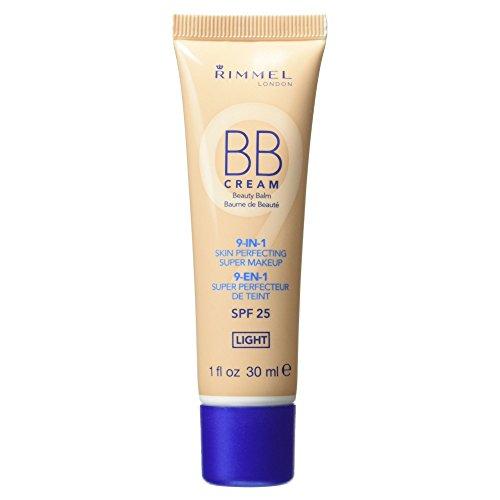 Rimmel London BB Beauty Balm 9-in-1 Cream - SPF 25 Light 30m