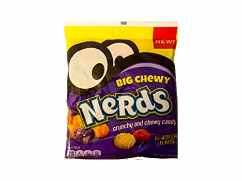 Nerds Big Chewy Crunchy and Chewy Candy 6 oz bag
