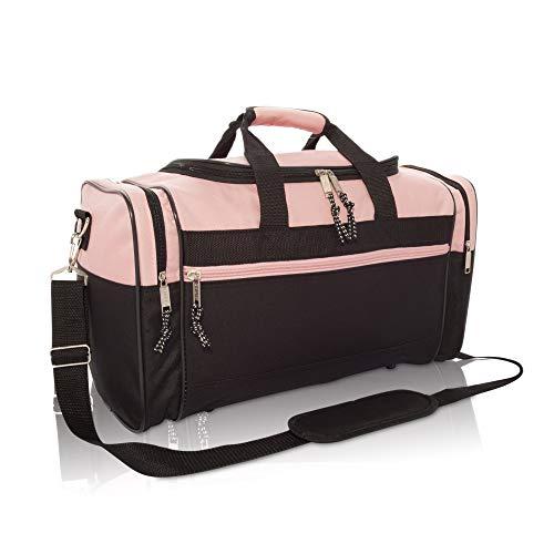 Blank Duffle Bag Duffel Bag in Black and Royal Gym Bag