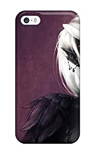 Awesome The Black Elf Fantasy Abstract Fantasy Flip Case With Fashion Design For Iphone 5/5s