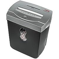 HSM of America shredstar X10 Cross, Cut Shredder, Shreds up to 10 Sheets, 5.5 gal Capacity, Black/Silver (1015)