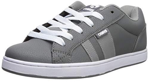 Osiris Men's Loot Skate Shoe, Charcoal/White/Grey, 9 M US
