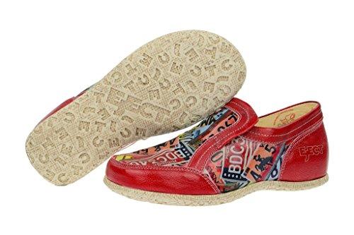 Rosso Espellere Donna Vernice Scarpe Rosse Da Di Rosso Stradali Pantofole Stampa wwqH1fv