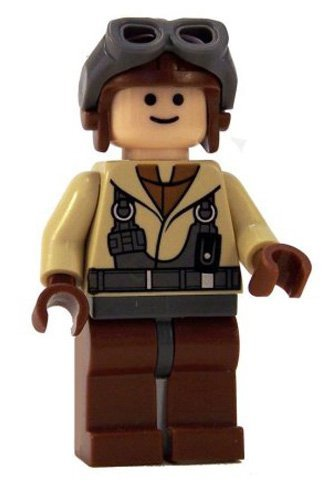 Naboo N1 Starfighter Lego - LEGO Star Wars LOOSE Mini Figure Naboo Pilot with Blaster