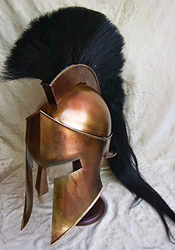 uniquewonderitems 300 Spartan Helmet King Leonidas Movie Replica Helmet Medieval Helmet