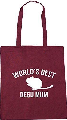 World's Gym litres Bag x38cm Tote HippoWarehouse best Burgundy 10 Beach 42cm degu Shopping mum dwpYqf