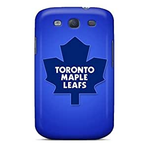 MarcClements Samsung Galaxy S3 Protective Hard Phone Case Custom Colorful Toronto Maple Leafs Image [RiJ2946VJja]