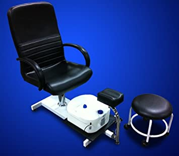 Sensational New Mtn Pedicure Station Chair Foot Spa Salon Unit W Stool Caraccident5 Cool Chair Designs And Ideas Caraccident5Info