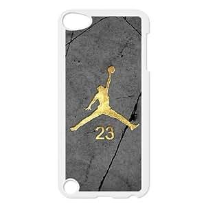 iPod Touch 5 Phone Cases White Jordan logo BGU272357
