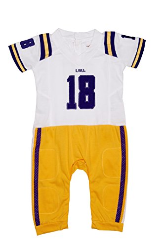Baby Lsu Football Costumes - FAST ASLEEP LSU Tigers Away Baby