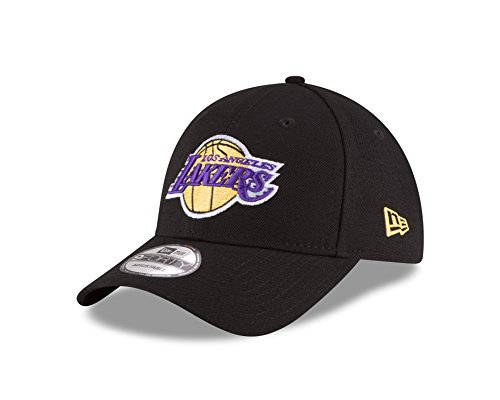 NBA Los Angeles Lakers The League 9Forty Adjustable Cap, Black, One Size ()