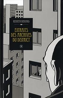Extraits des archives du district par Bernard