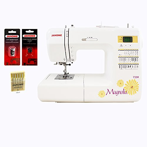 janome magnolia 7330 computerized sewing machine