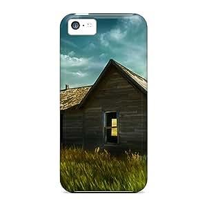 Cute Tpu Louisopson Farm House Case Cover For Iphone 5c