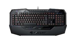 ROCCAT ISKU FX Multicolor Key Illuminated Gaming Keyboard, Black