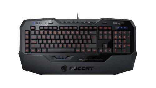 (ROCCAT ISKU FX Multicolor Key Illuminated Gaming Keyboard, Black)