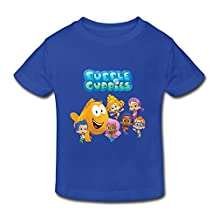 Kids Toddler Bubble Guppies Cartoon Little Boy's Girl's T-Shirt