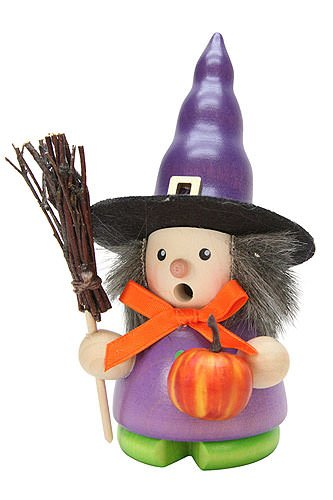 German Incense Smokers Witch - 13cm / 5 inch - Christian Ulbricht
