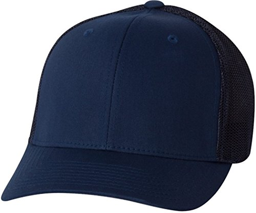 7f335f01 Flexfit 6-Panel Structured Trucker Cap at Amazon Men's Clothing store: