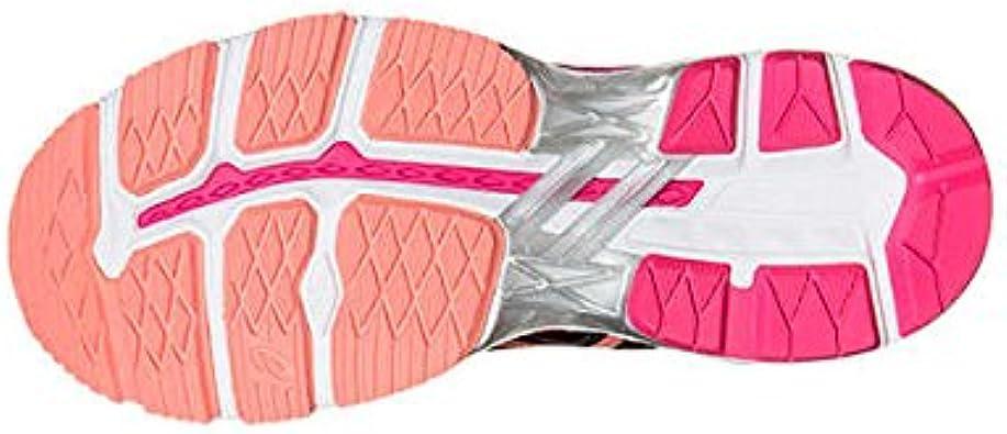Asics Gt-2000 4 W - Zapatillas de running para mujer, color rosa, negro / rosa, 41.5: Amazon.es: Deportes y aire libre