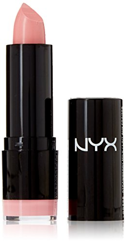 NYX PROFESSIONAL MAKEUP Extra Creamy Round Lipstick, Strawberry Milk, 0.14 Ounce