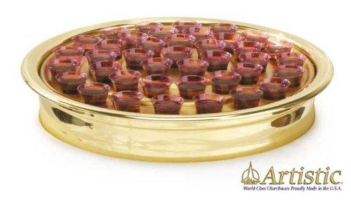 Communion Ware Brass (Brasstone Communion Tray)