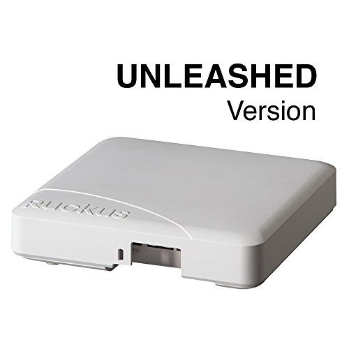 Ruckus Wireless Unleashed R600 Unleashed Dual-Band, 802.11ac Wireless Access Point, BeamFlex+, Dual Ports, 802.3af PoE by Ruckus Wireless