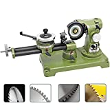 "Hanchen Circular Saw Blade Sharpener 21.5"" Electric Round Saw Blade Grinding Machine for Carbide, HSS, Plastics, Wood Table 350W"