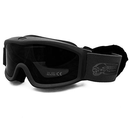 VooDoo Tactical 02-0244001000 Goggle Set, Black