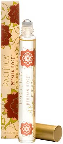 Pacifica Beauty Perfume Roll-on, Persian Rose, 0.33 Fluid Ounce