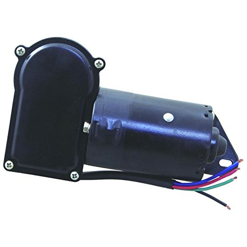 New Front Drivers Side Left Wiper Motor For 1973-2009 John Deere Farm Tractor Various Models RE48783 RE56691 Replaces RE18943