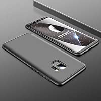 For Samsung Galaxy S9 Plus Kılıf GKK 360 Derece + Ön Film (FSF78)