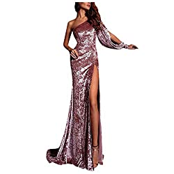 Women's Sequin Prom Party Gown