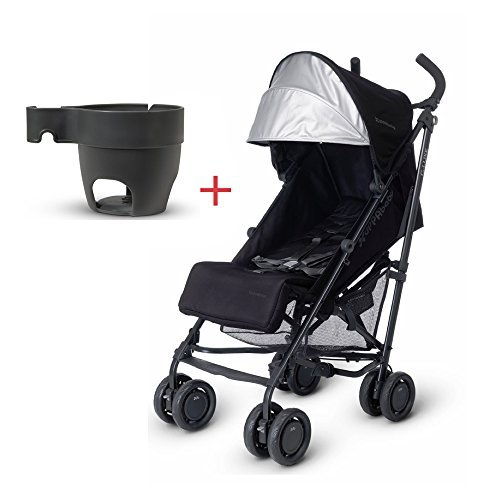 2015/2016 Uppababy G luxe Stroller Jake Black with Cup Holder by UPPAbaby (Image #1)