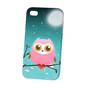 TYH - Case Fun Apple iPhone 6 4.7 Case - Vogue Version - D Full Wrap - Pink Owl by DevilleART ending phone case