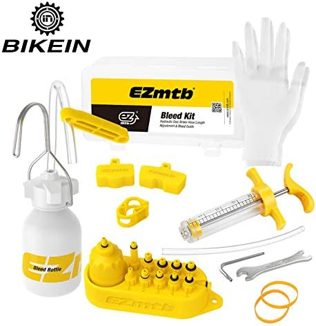 Bicycle Disc Brake Oil Mineral Bleed Kit for MAGURA Series Heavy Duty All-Round Disc Brake Oil Change Tool Kit