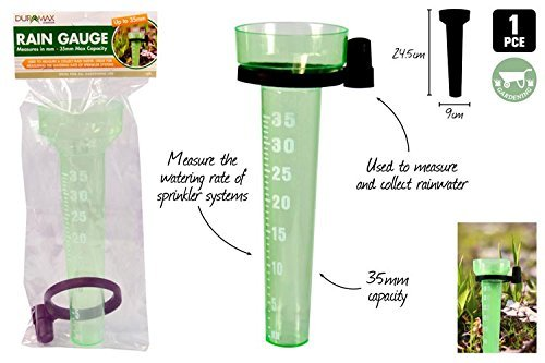 1Pce Rain Gauge Up To 35Mm Measurement