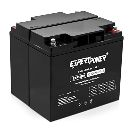 2-Pack-ExpertPower-12-Volt-20-Ah-Rechargeable-Battery-With-Threaded-Terminals-EXP12200