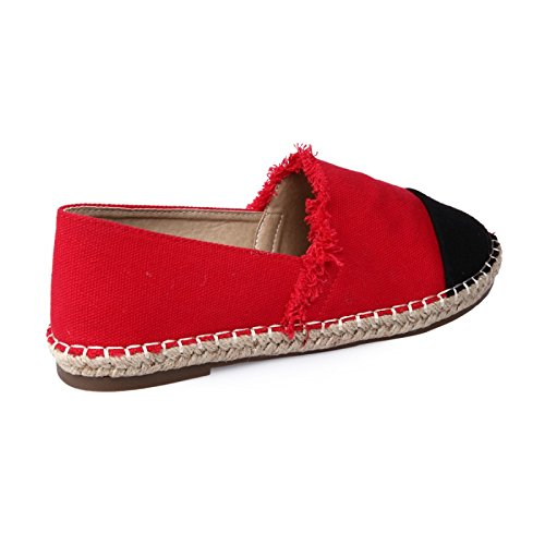 La La espadrilles Modeuse espadrilles Modeuse La Clásicos Modeuse Modeuse Rojo Clásicos Rojo La Clásicos Rojo espadrilles P1fwq