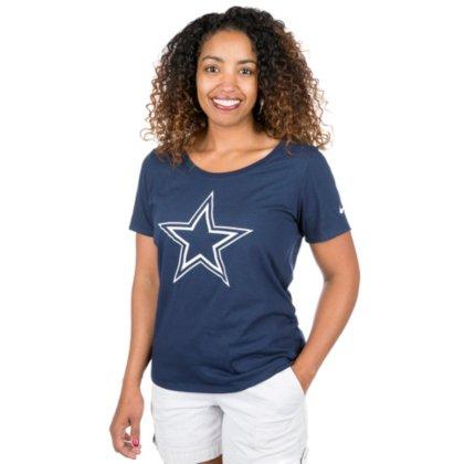 Dallas Cowboys Nike Womens Primary Logo Tee -